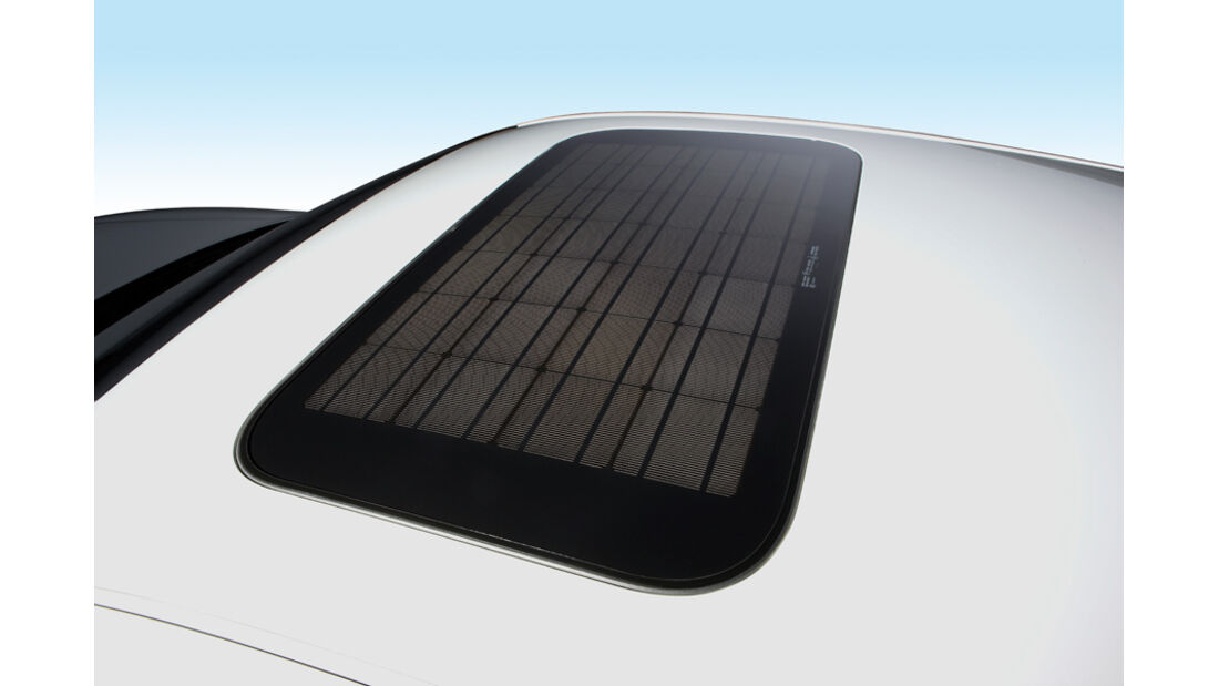 Eco Drive Solartankstellen, Solarschiebedach