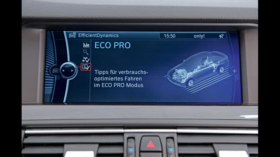 Eco-Pro-Modus, Display