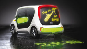 Edag Light Car Car-Sharing Genf 2011