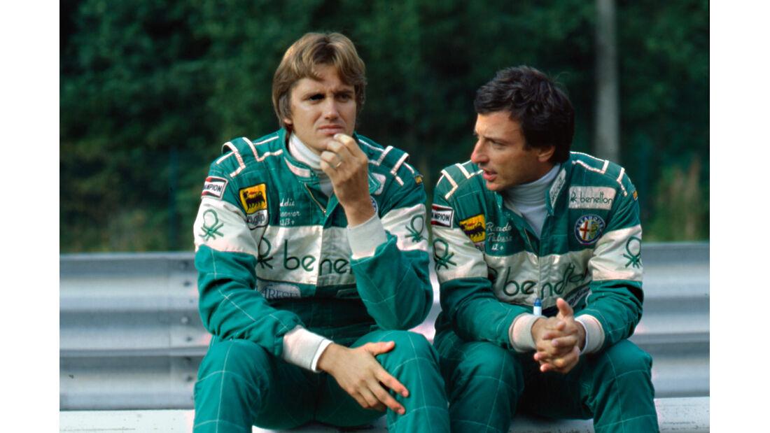 Eddie Cheever & Riccardo Patrese