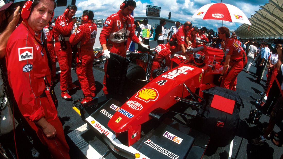 Eddie Irvine - Ferrari - GP Malaysia 1999