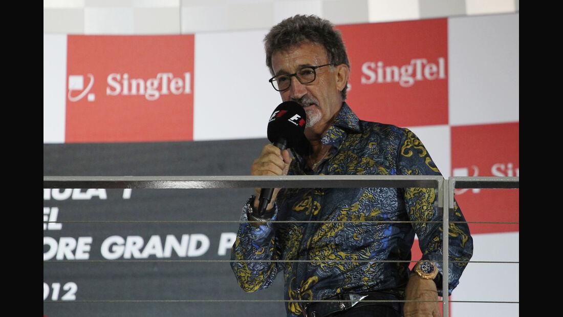 Eddie Jordan - GP Singapur 2012