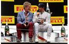 Eddie Jordan & Lewis Hamilton - GP Spanien 2014