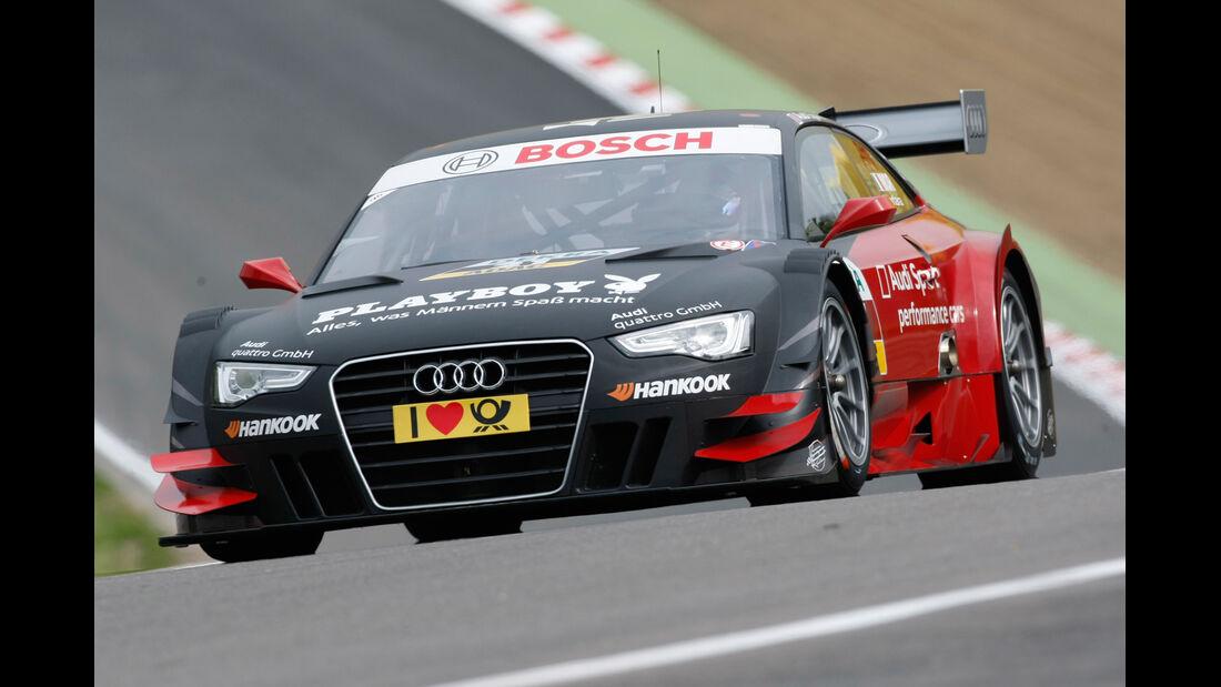 Edoardo Mortara Audi DTM Brands Hatch 2012
