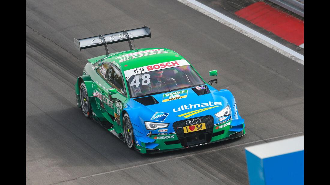 Edoardo Mortara - Audi - DTM - Nürburgring - 1. Rennen - Samstag - 26.9.2015