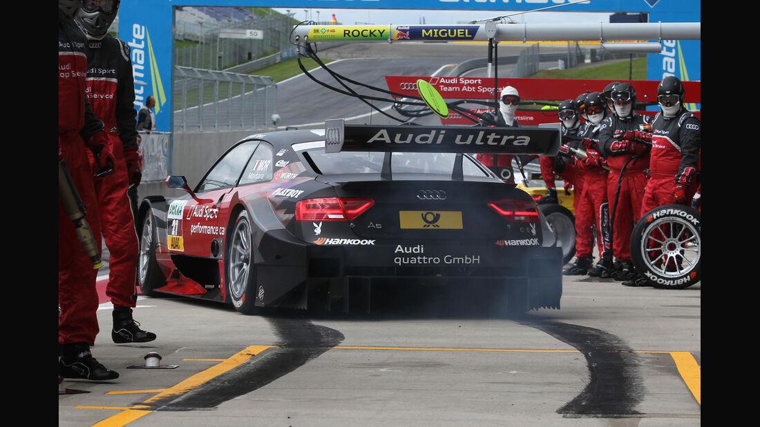 Edoardo Mortara Audi DTM Spielberg 2012