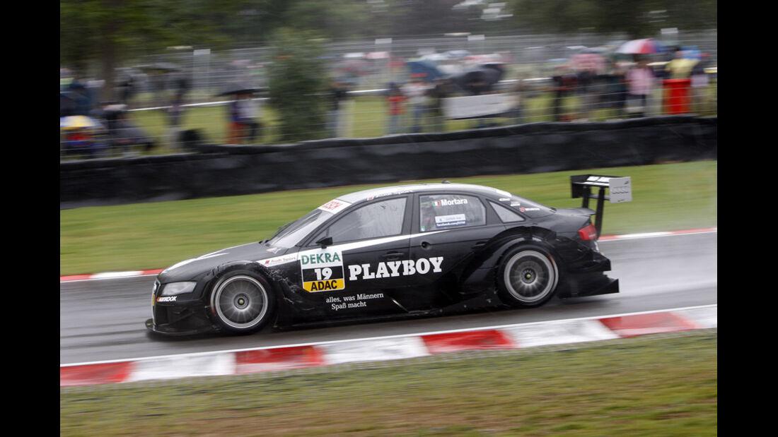 Edoardo Mortara DTM Brands Hatch 2011