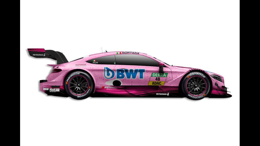 Edoardo Mortara - Mercedes - DTM-Auto 2017