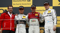Edoardo Mortara - Pascal Wehrlein - Paul di Resta - DTM - Spielberg - 01.08.2015