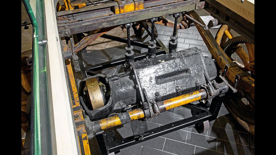 Egger-Lohner-Elektromobil, Porsche P1, Motor