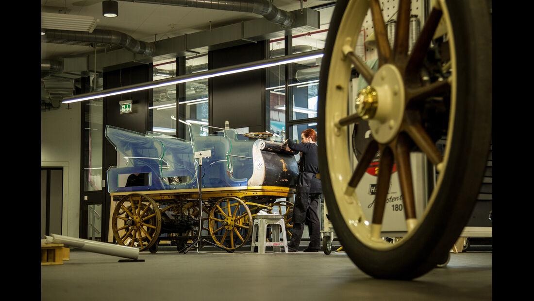 Egger-Lohner-Elektromobil, Porsche P1, Porsche-Museum