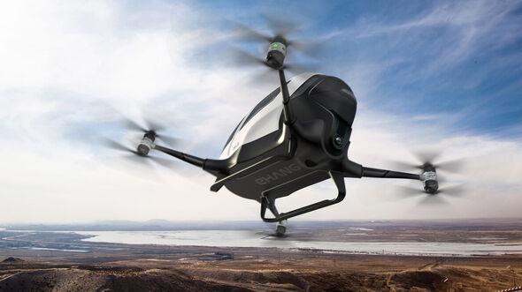 Ehang 184, Drone, Selbstfliegendes Luftfahrzeug, Autonomes Fliegen