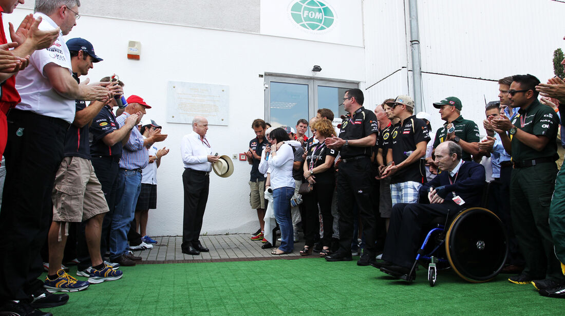 Ehrenfeier für Tamas Frank - Formel 1 - GP Ungarn - Budapest - 28. Juli 2012