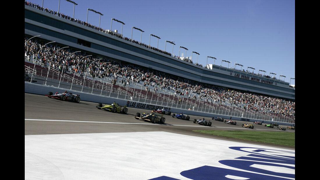 Ehrenrunde Indycar Las Vegas 2011