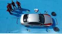 Eibach-Audi S5, Draufsicht