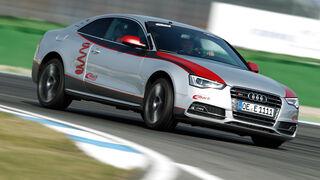 Eibach-Audi S5, Frontansicht