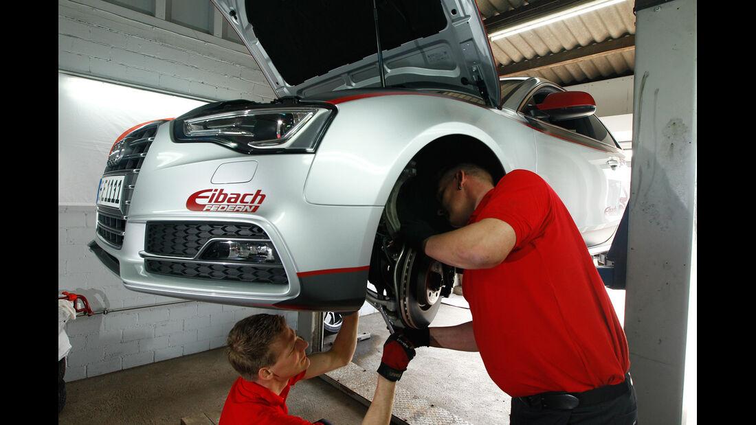 Eibach-Audi S5, Radaufhängung