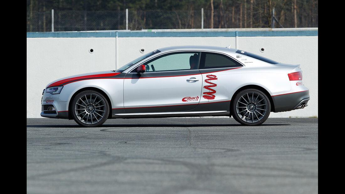 Eibach-Audi S5, Seitenansicht