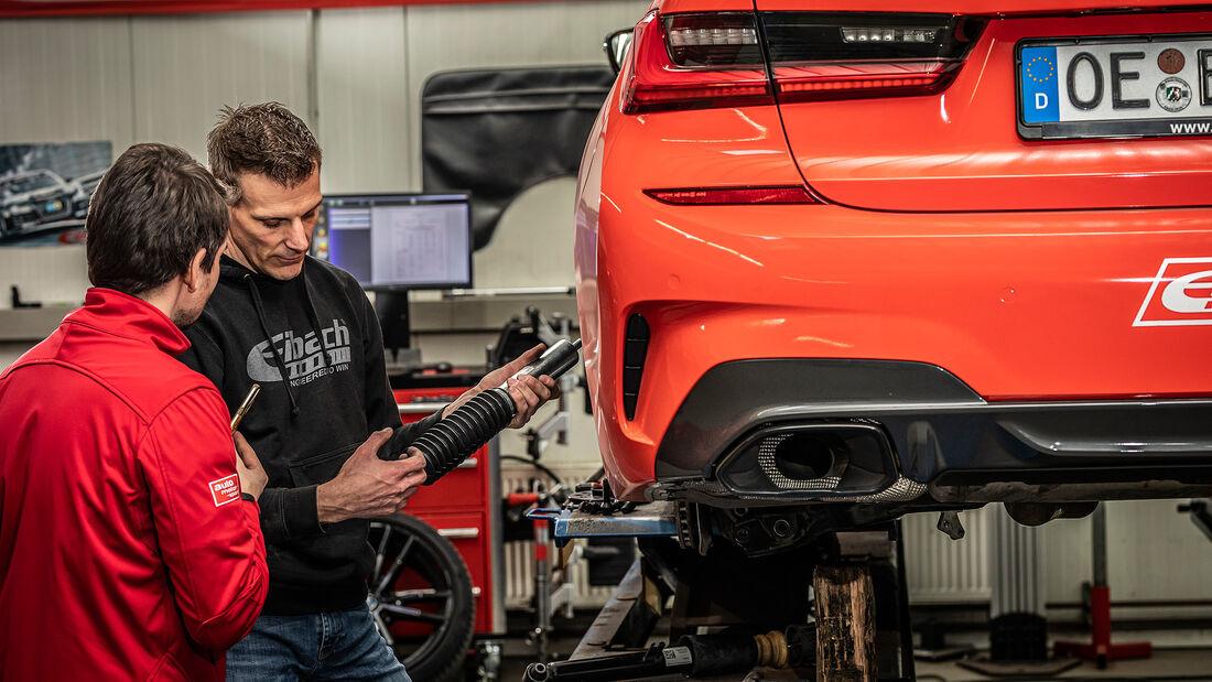 Eibach, Fahrwerk, Test, BMW M340i