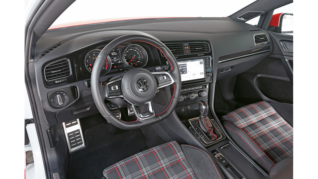 Eibach-VW Golf GTI, Cockpit