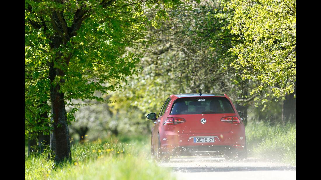 Eibach-VW Golf GTI, Heckansicht