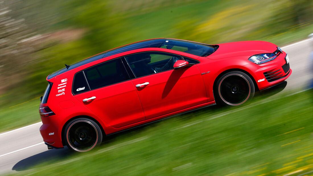 Eibach-VW Golf GTI, Seitenansicht