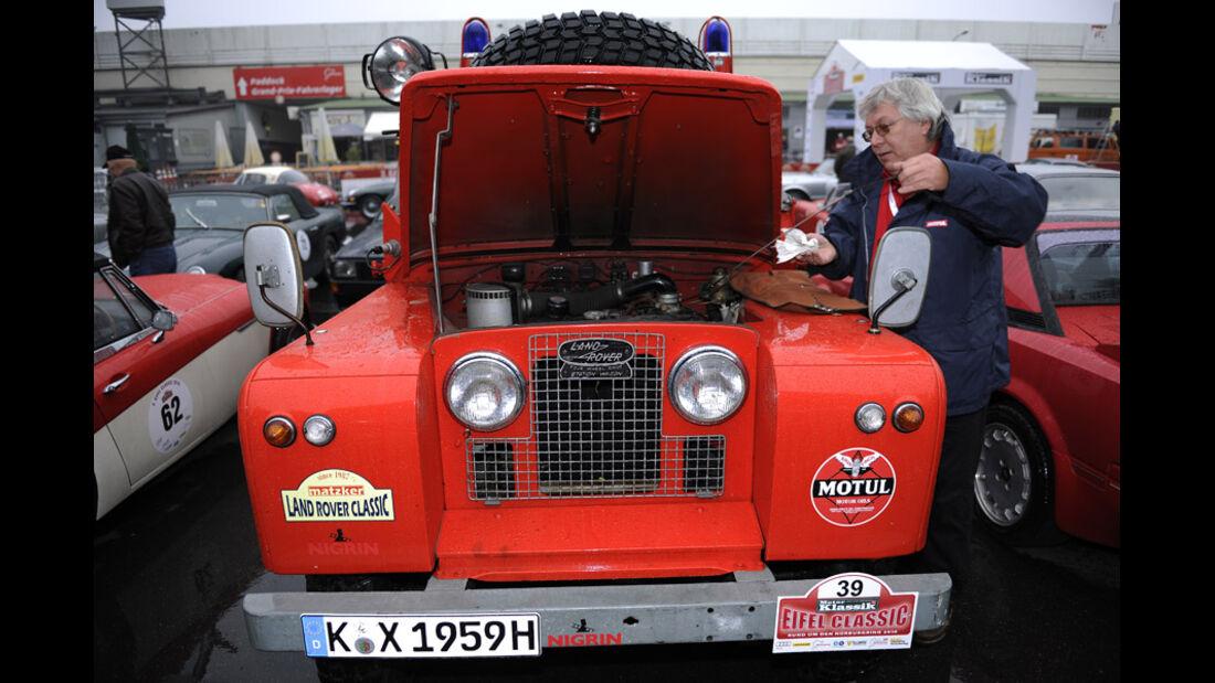 Eifel Classic 2010 - Feuerwehr Land-Rover Serie II