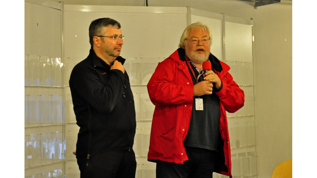 Eifel Classic 2010 - Harald Koepke und Malte Jürgens