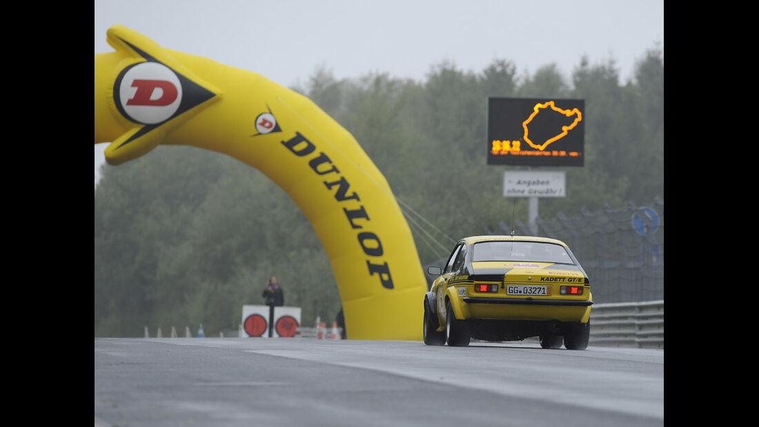 Eifel Classic 2010 - Opel Kadett auf dem Nürburgring