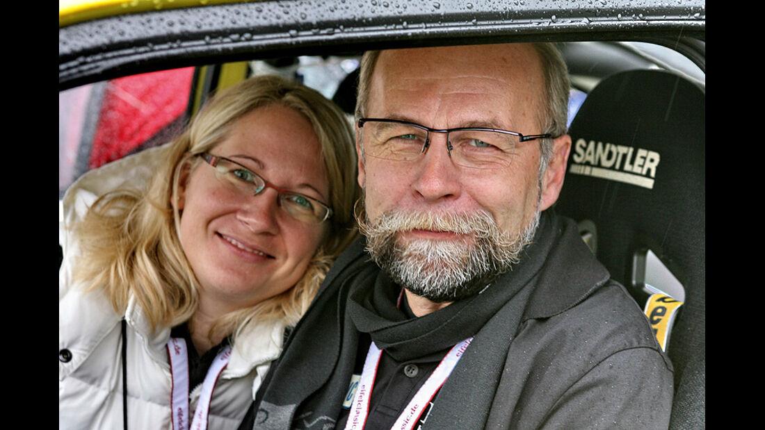 Eifel Classic 2010 - Wolfgang Scholz mit Tochter Thandy Bernsmann
