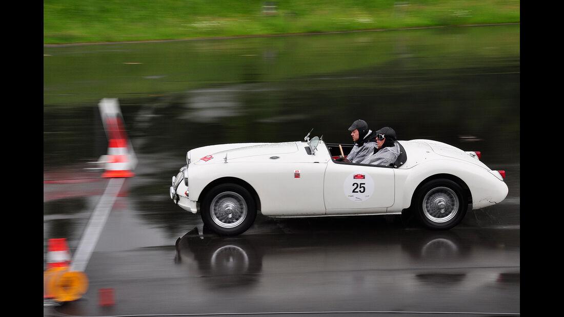 Eifel Classic, 2012, Tag 1, Start