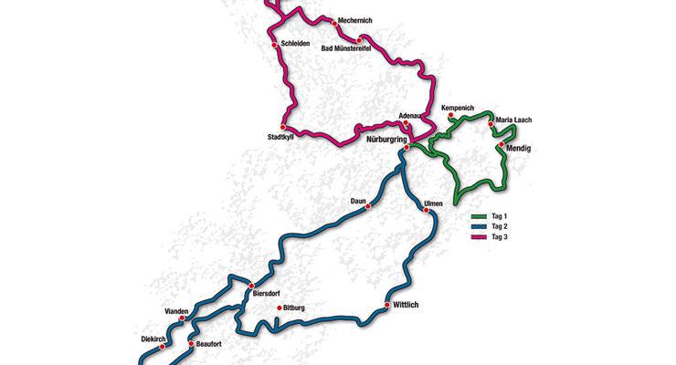 Eifel Classic Karte