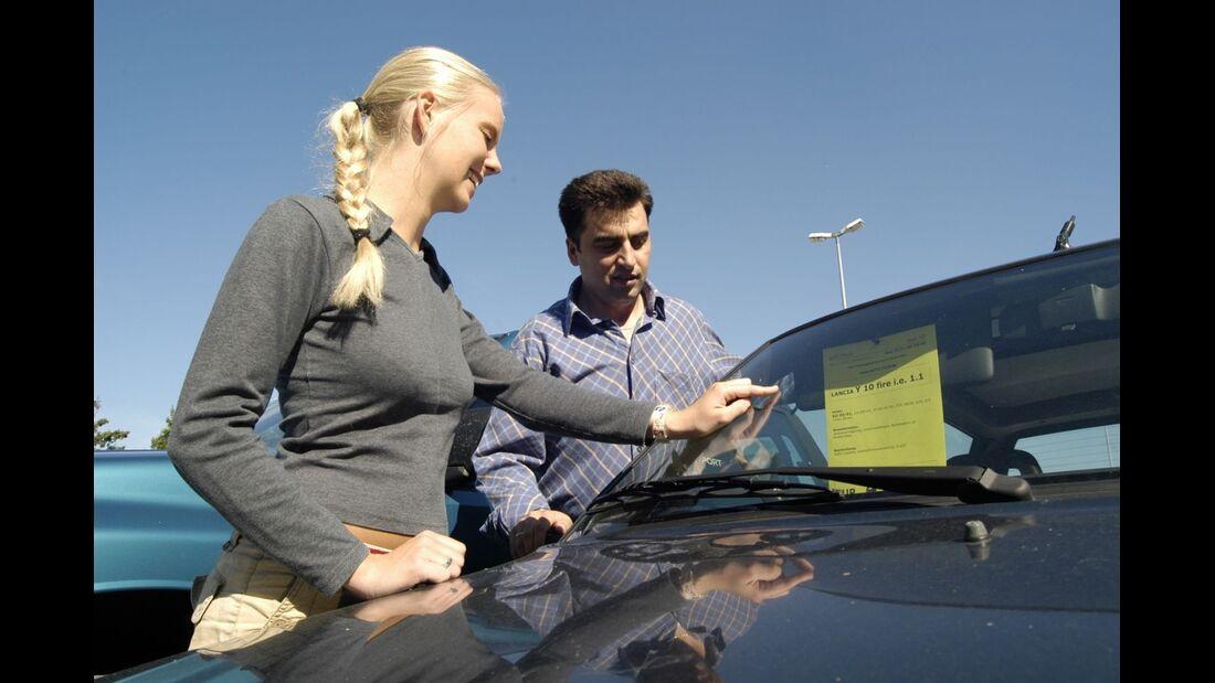 Ein Autokauf erfordert viel Fingerspitzengefühl.