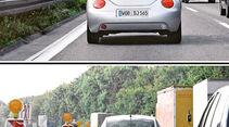 Einfädeln, VW Beetle