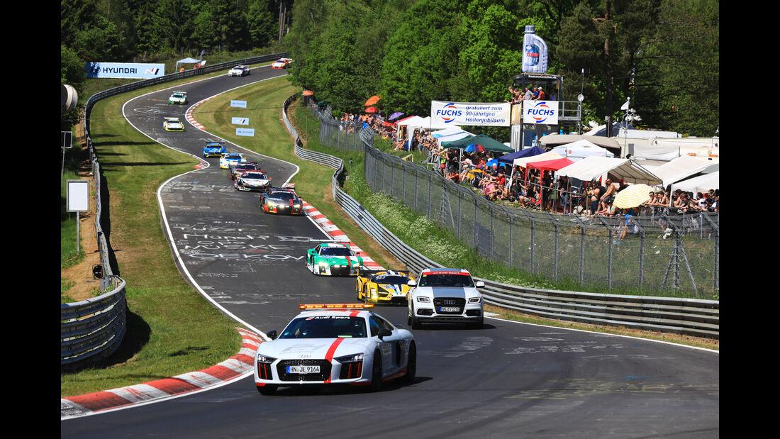 Einführungsrunde - 24h-Rennen Nürburgring 2017 - Nordschleife - Samstag - 27.5.2017