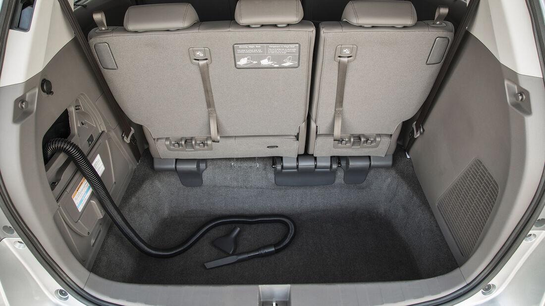 Eingebauter Staubsauger im Honda Odyssey