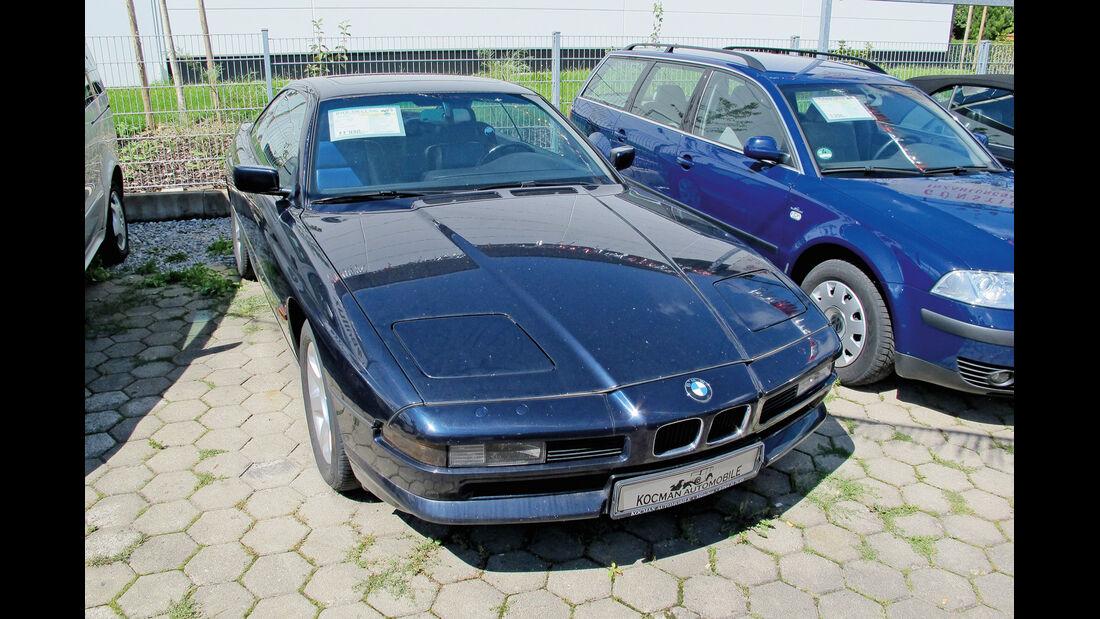 Einkaufs-Tour, BMW 850 Ci