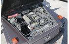 Einkaufs-Tour, Mercedes 300 GD, W 463, Motor