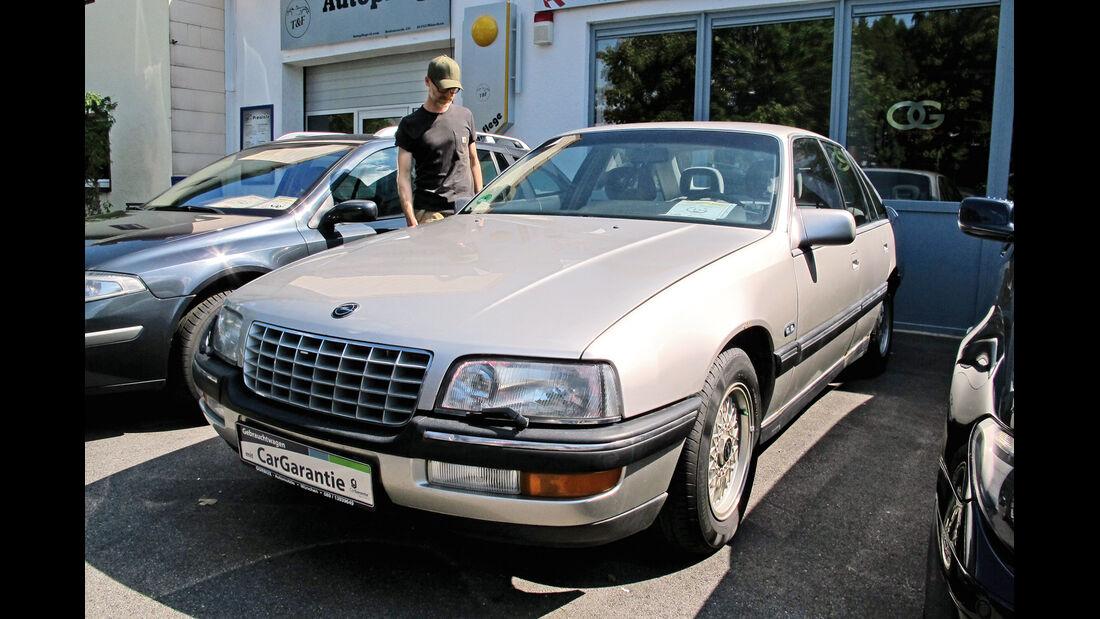 Einkaufs-Tour, Opel Senator 3.0i