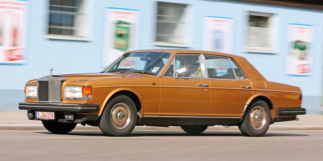 Einkaufs-Tour, Rolls-Royce Silver Spirit, Seitenansicht