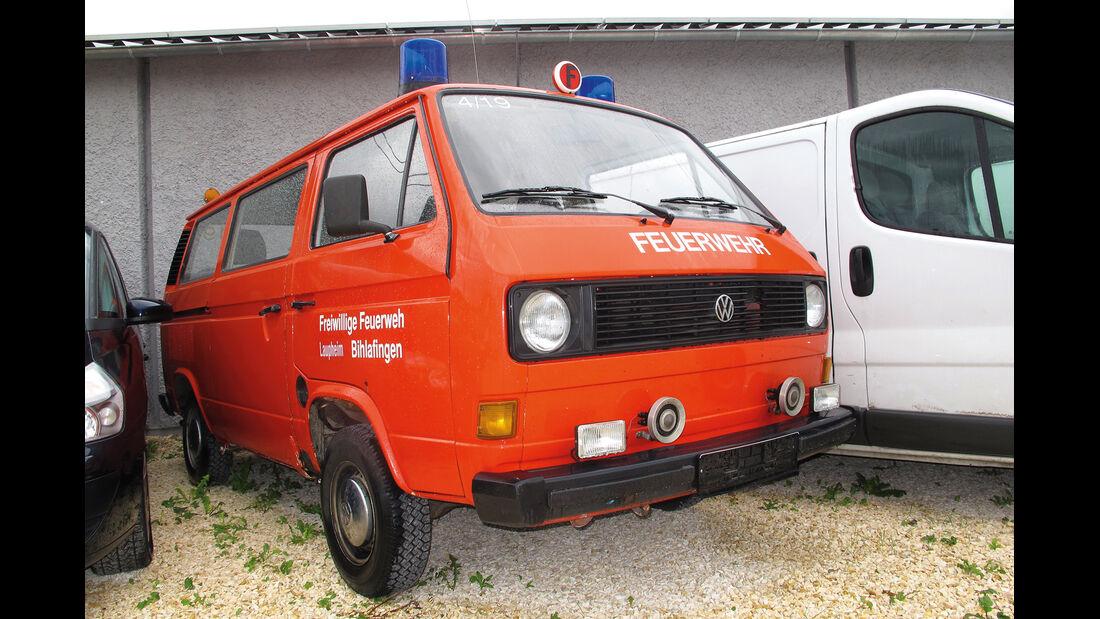 Einkaufs-Tour, VW Bus T3