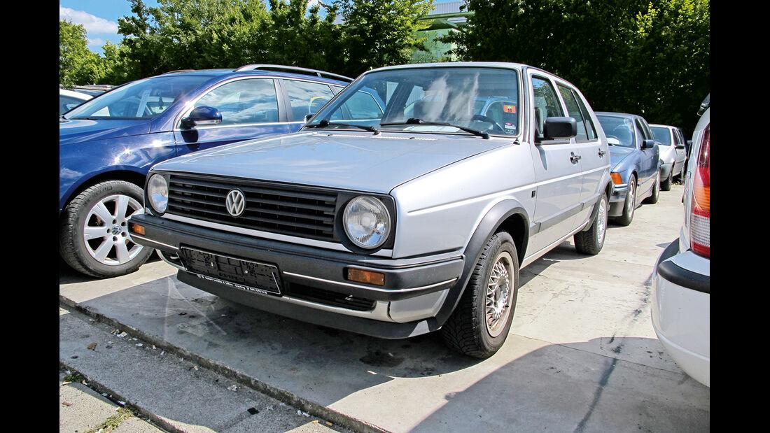 Einkaufs-Tour, VW Golf 1.8 C