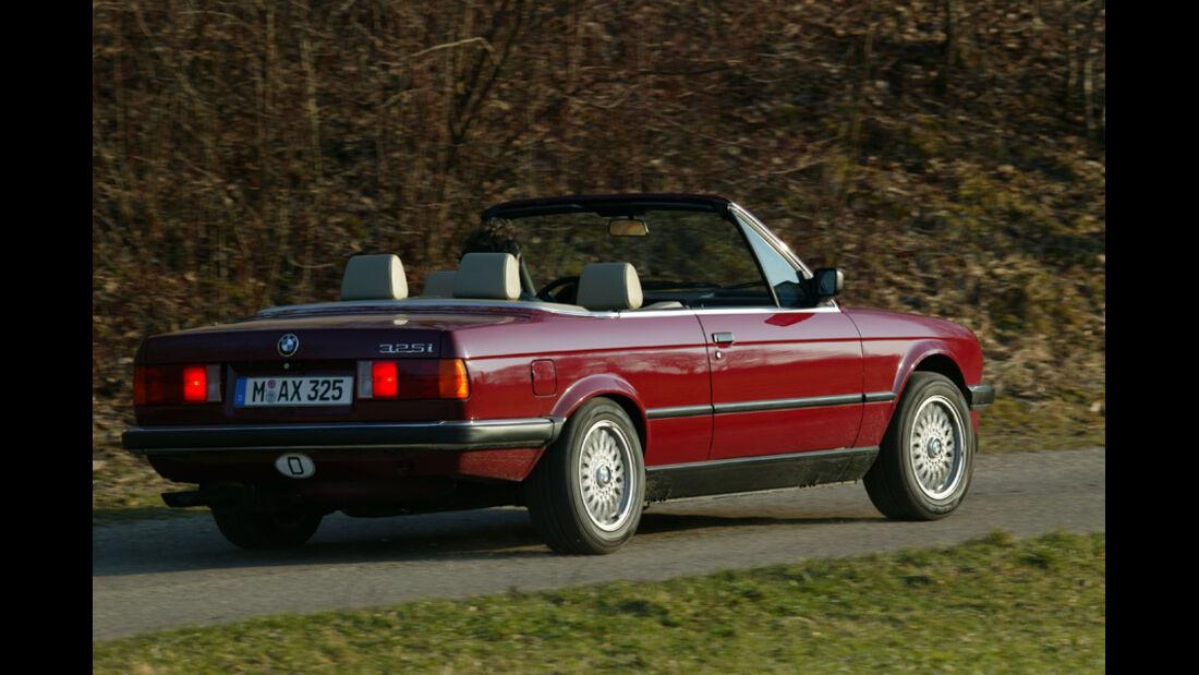 Einkaufsführer, BMW E30 Cabrio, Heck