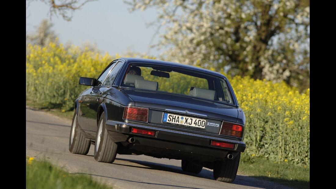 Einkaufsführer, Jaguar XJ 40, Heck