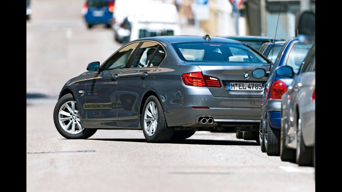 Einparksysteme, Ausparken, 5er BMW