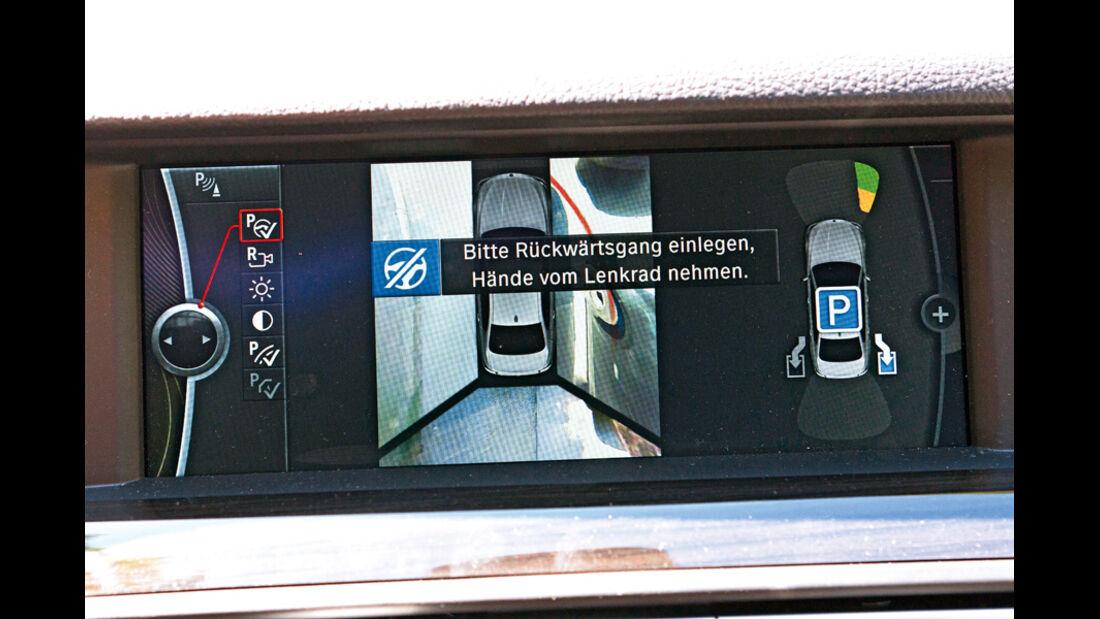 Einparksysteme, Display Parkassistent