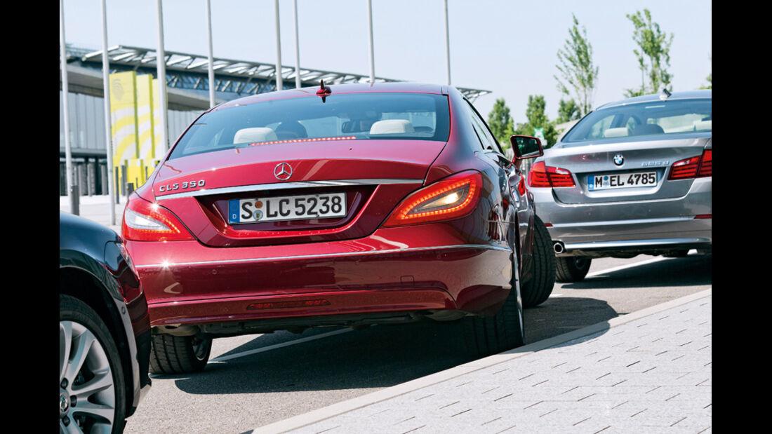 Einparksysteme, Einparken, Mercedes