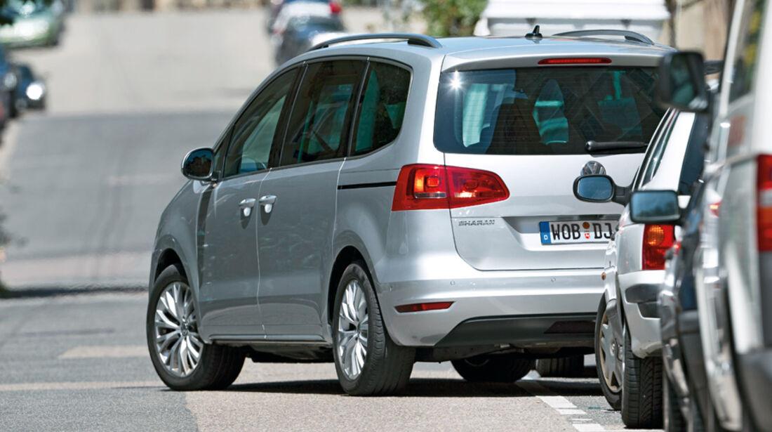 Einparksysteme, Einparken, VW