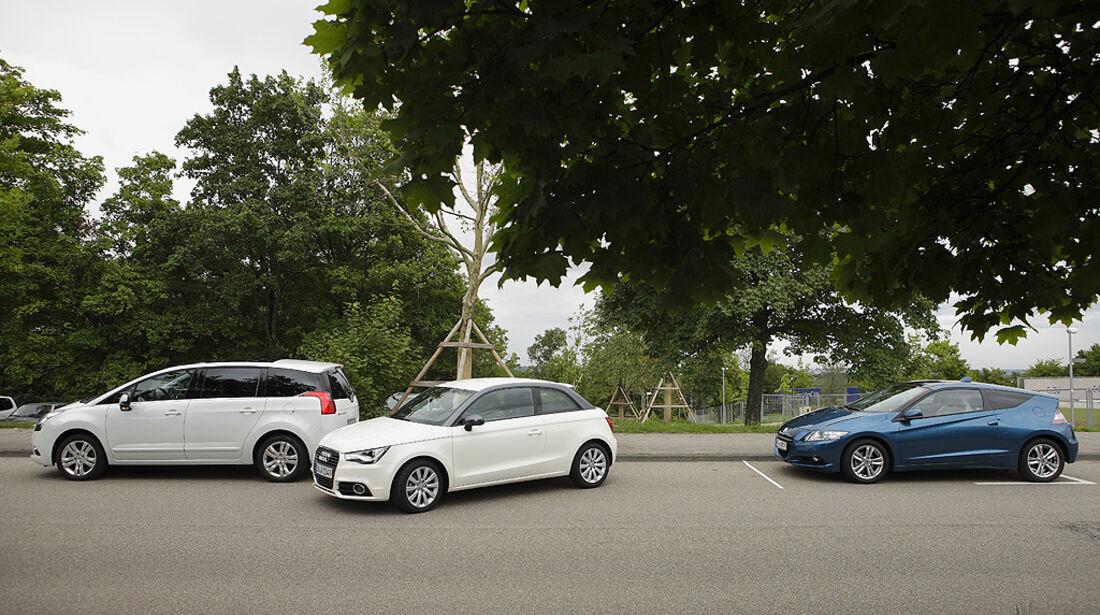 Einparktest, Audi A1