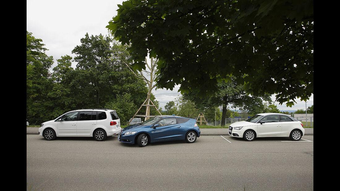 Einparktest, Honda CR-Z